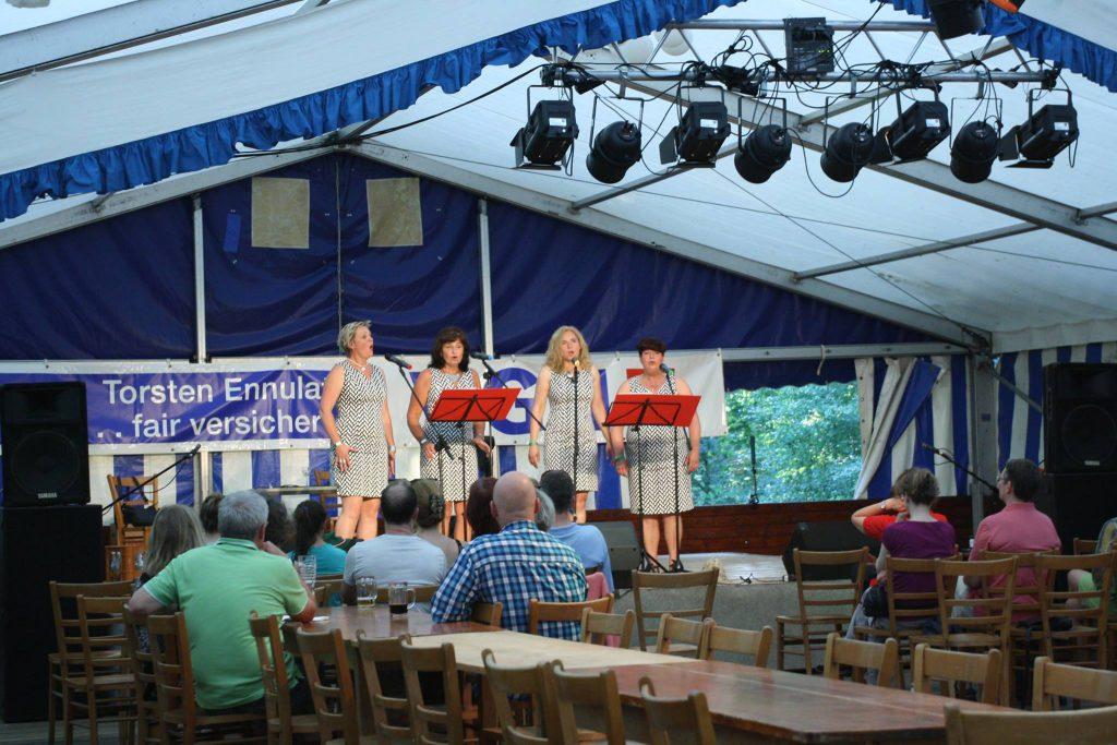 Das Acapella-Quartett